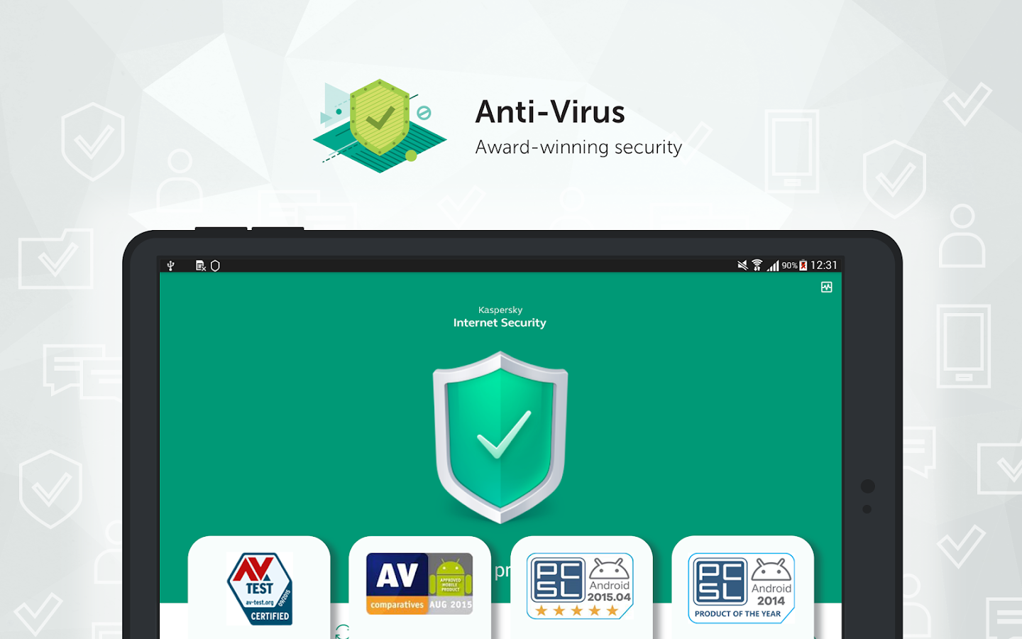 Kaspersky Antivirus & App Lock- screenshot