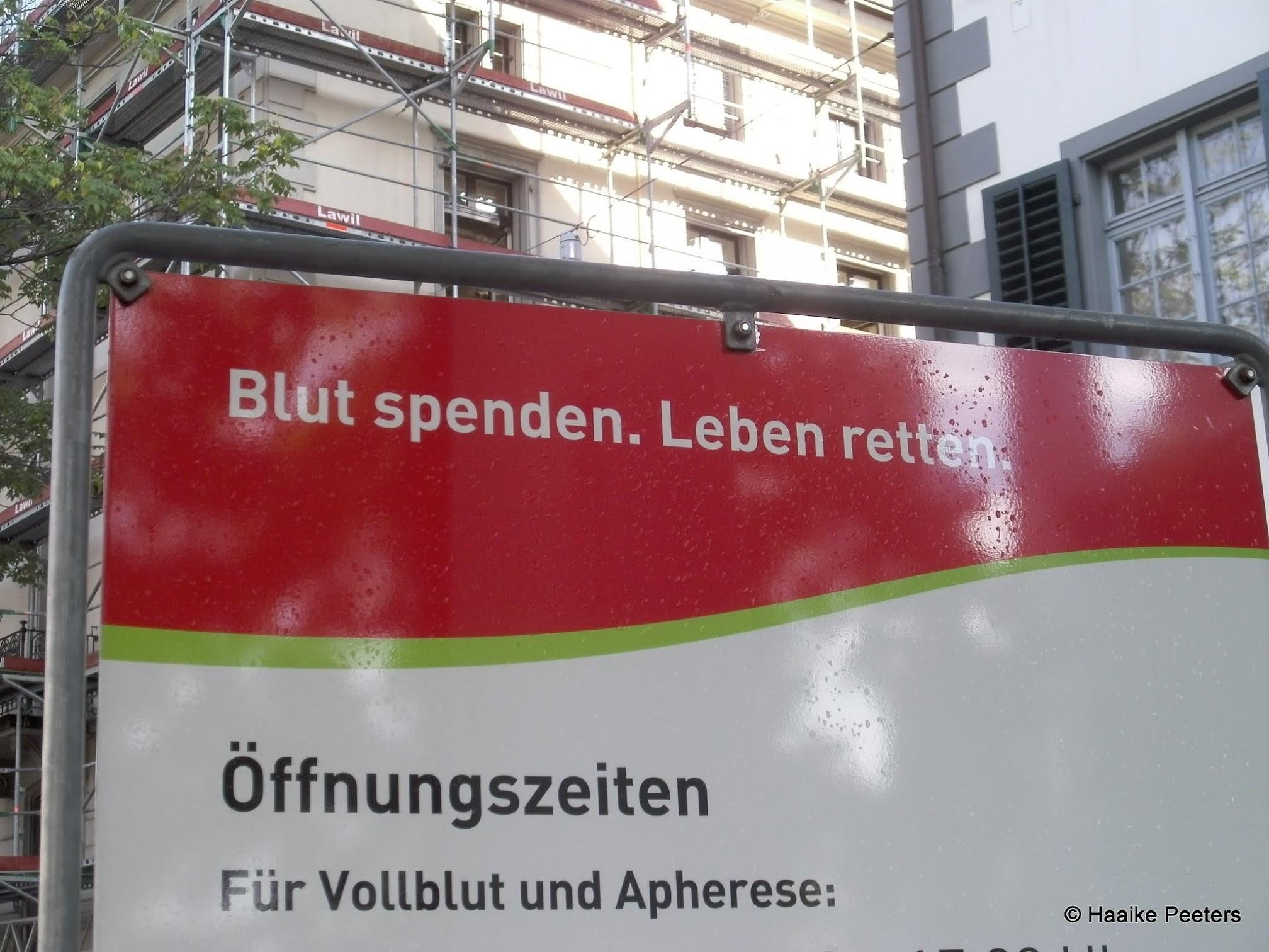 Blutspendezentrum Zürich (Le petit requin)