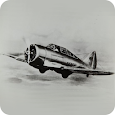 Fighter aircraft World War II icon