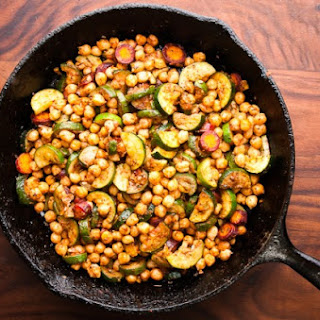 Zucchini And Chickpea Tagine –