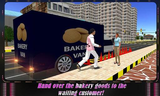 デリバリーバン:ベーカリークッキー|玩動作App免費|玩APPs