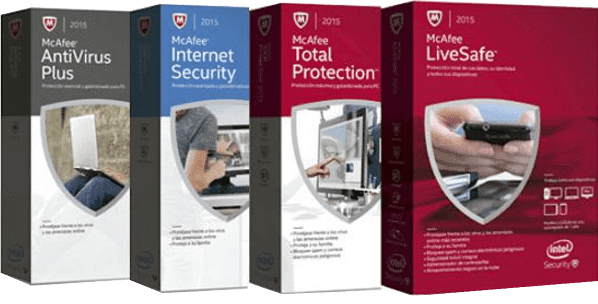 Mcafee Packages