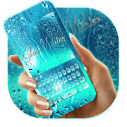 App Blue Glass Water Keyboard Theme APK for Windows Phone