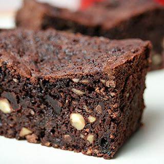 Chocolate-Cherry Fruitcake.