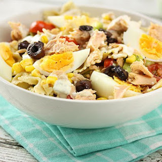Spanish Tuna Pasta Salad Recipe
