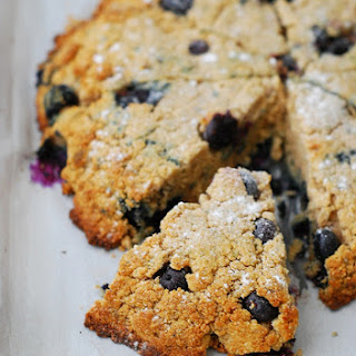 Low Carb Blueberry Scones.