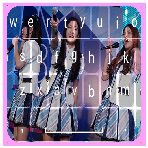 BNK48 keyboard - BNK48 Emoji Keyboard