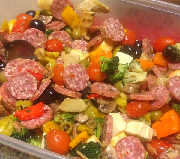 Very Easy Antipasti For A Crowd Recipe