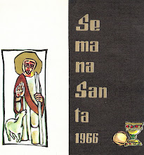 Photo: Programa de Semana Santa 1966 (exterior) (Javier Serrano)