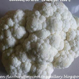 Cauliflower Cheese Tart Recipes