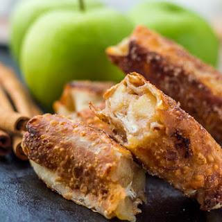 Healthy Apple Pie Egg Rolls.