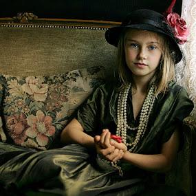 Jessica vintage by Pirjo-Leena Bauer - Babies & Children Children Candids