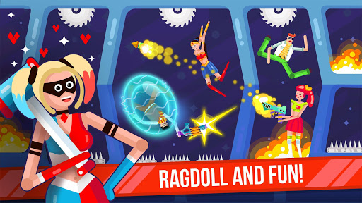 Télécharger Ragdoll Rage: Heroes Arena Brawl apk mod screenshots 3