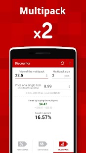 Discountor – sales calculator- screenshot thumbnail