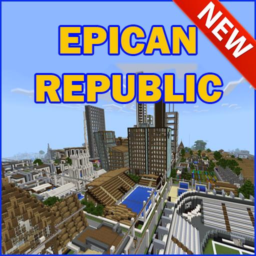 Epican Republic Minecraft City Map MCPE