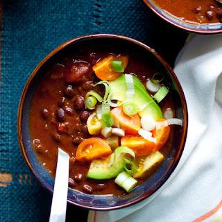 Slow Cooker Black Bean Pumpkin Chili