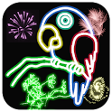 Glow Doodle - Neon Drawing icon