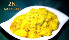 26. Aloo Gobhi