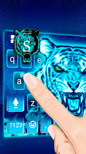 Horror Tiger Keyboard Theme