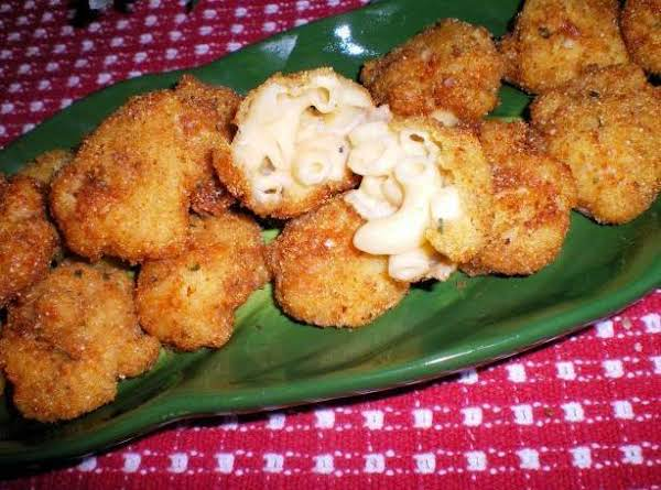 Fried Macaroni And Cheese Balls Recipe