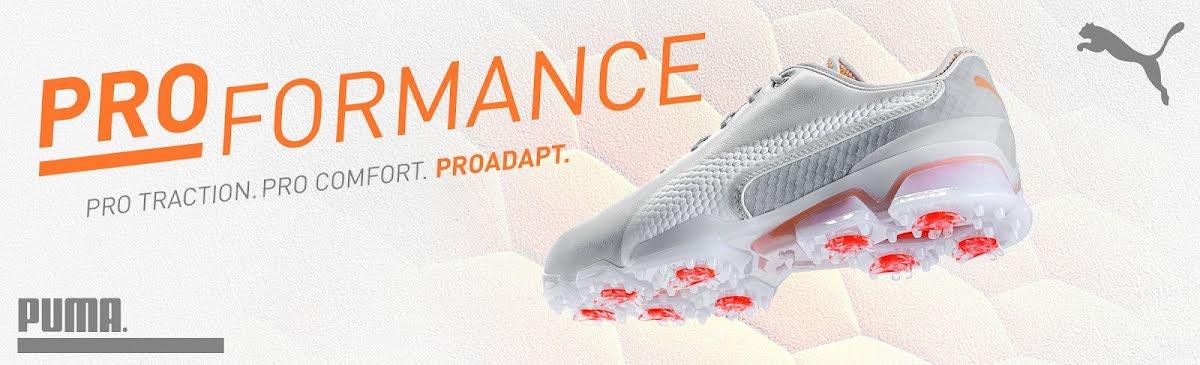 Puma golfskor I PWRAdapt en golfsko för dig som gillar hög komfort och maximalt stabilitet