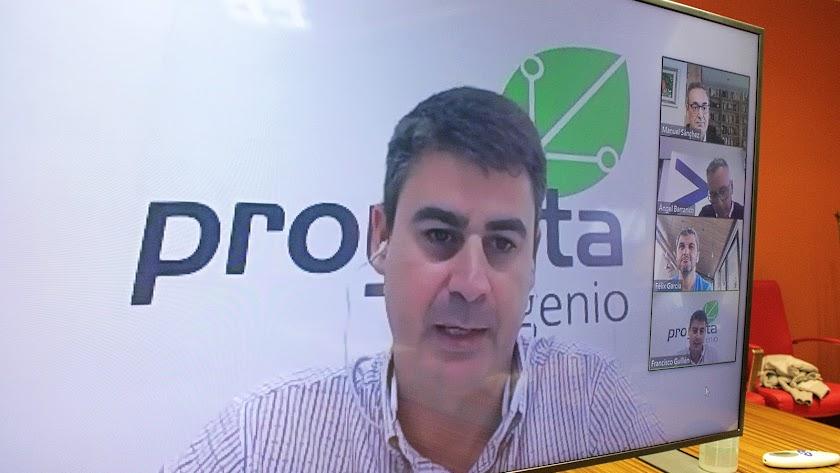 Francisco Guillén, gerente de Proyecta Ingenio.