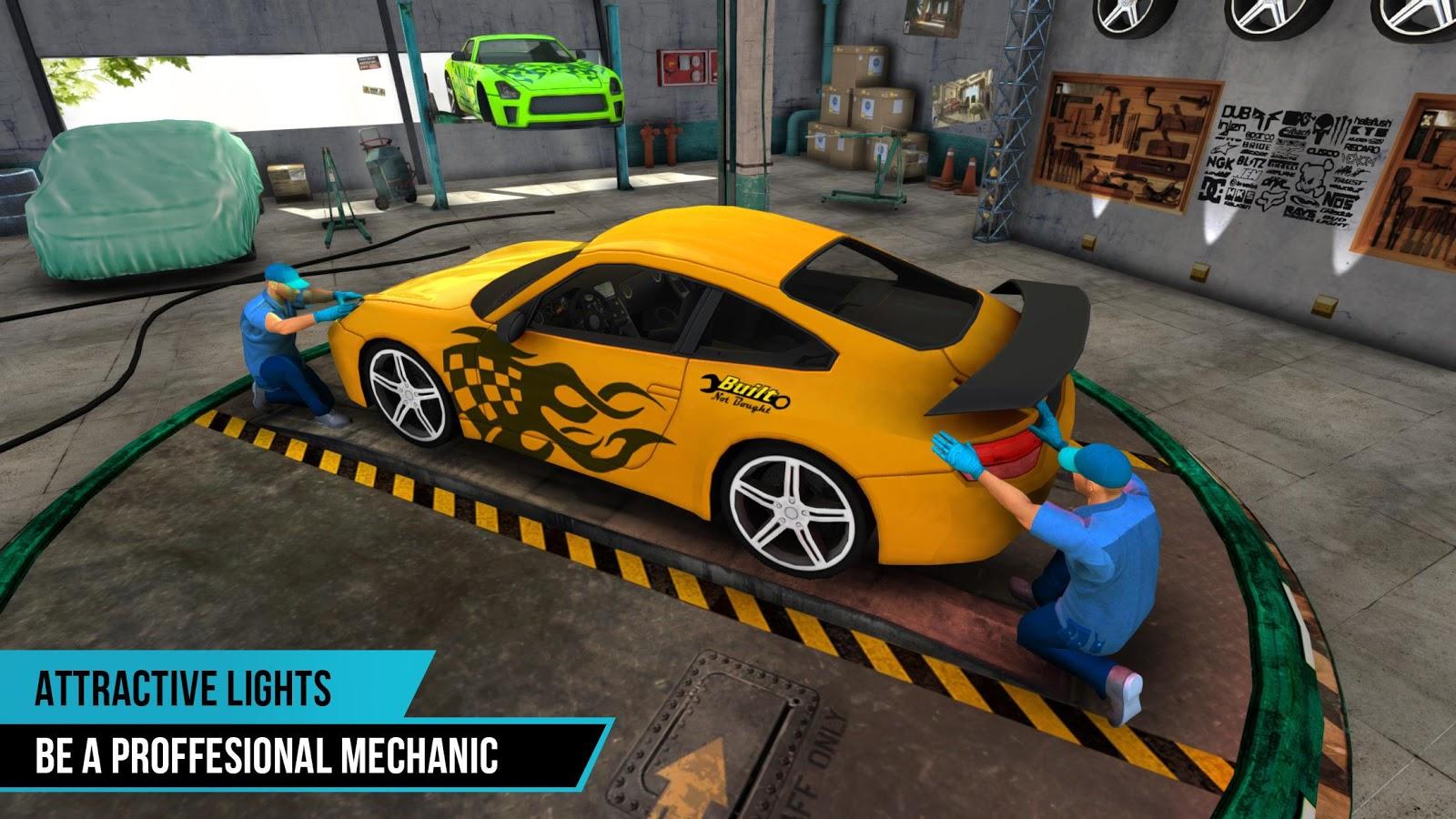 Can T Repair Body Car Mechannic Simulator