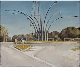 """Photo: """"Rotonda 1"""", 54cm x 65cm, 2014"""