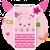 Cuteness Piggy Cartoon Theme file APK Free for PC, smart TV Download