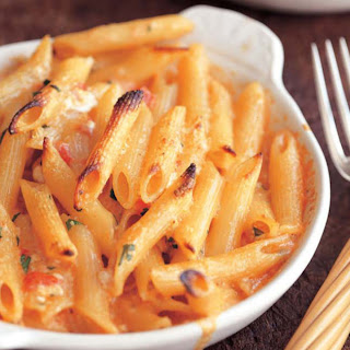 Penne with Five Cheeses.
