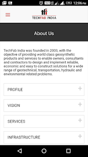 TechFab India- screenshot thumbnail