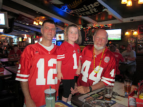 Photo: First Husker Game of 2013, at Players Pub with JB, Fianna, Papa Rick