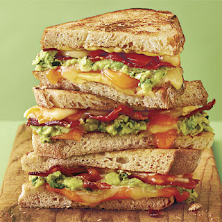 Grilled Cheese with Bacon and Guacamole