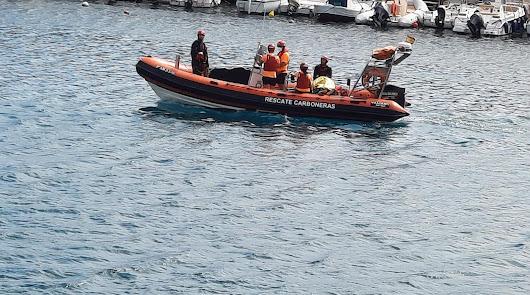 Protección Civil rescata el cuerpo de un varón el lunes en Carboneras