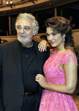 Photo: WIENER OPERNBALL 2016 - Generalprobe. Placido Domingo, Olga Peretyatko. Copyright: Barbara Zeininger