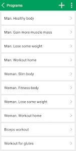 Fitness Trainer FitProSportPRO v2.18