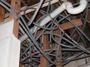 Photo: October 2003 - Month 2: Bathroom plumbing?!?!?!?!?
