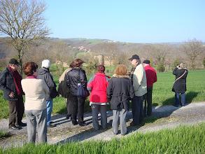Photo: Vista del Castell d'Aniès i el poble de Sant Marcèl.