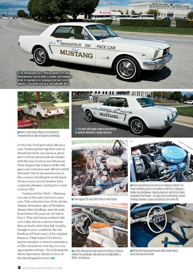 Mustang Monthly- screenshot