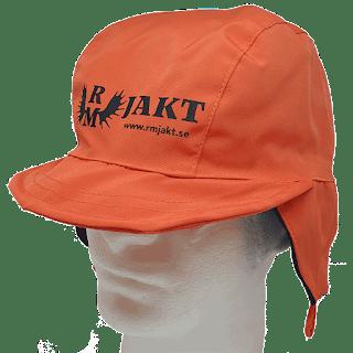 Fulmössa Orange RM Jakt