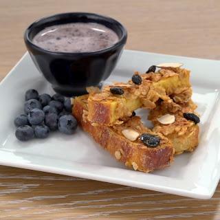 Blueberry Morning French Toast Sticks