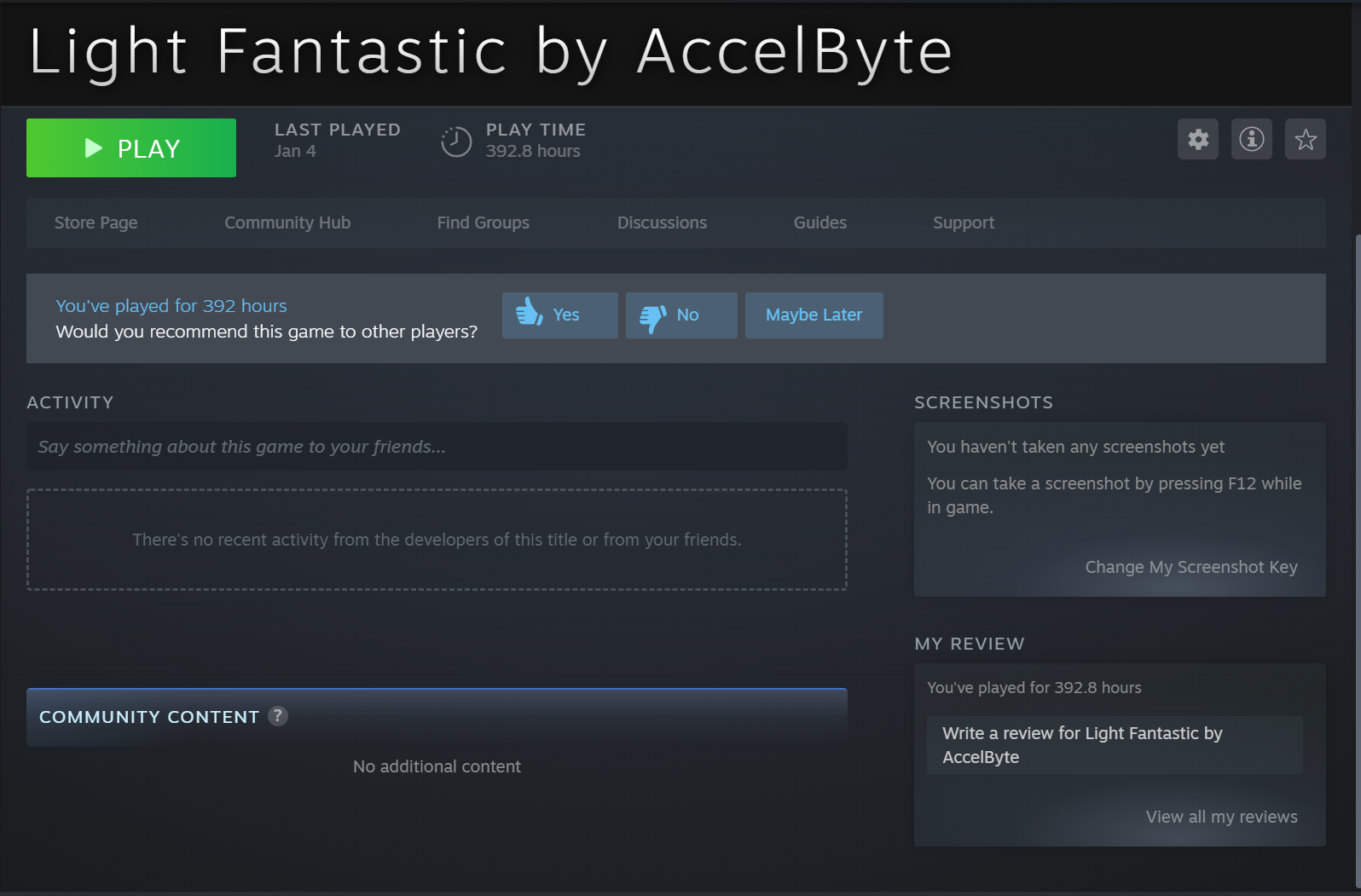 linking game on your platform to Steam