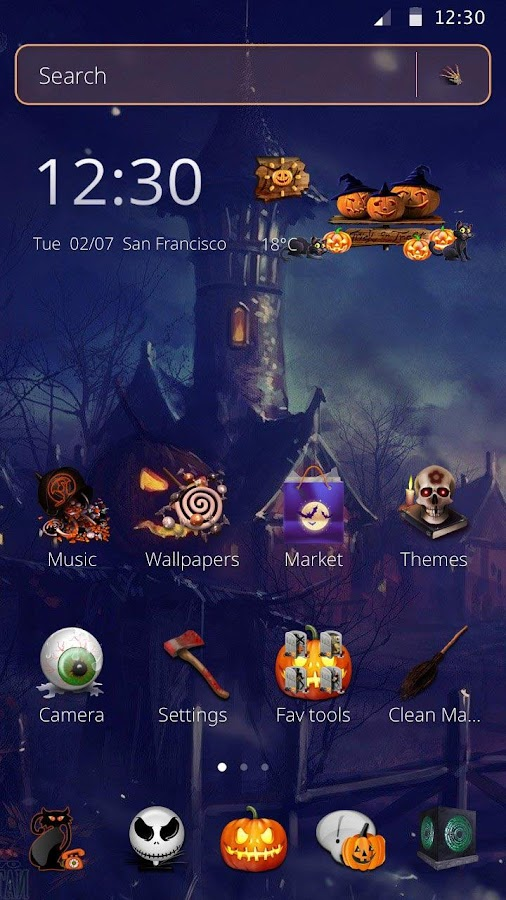 Halloween Night Theme 2017 New - Android Apps on Google Play