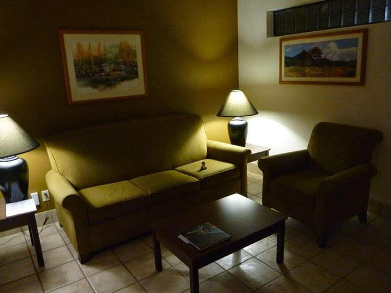 Photo: My living room,