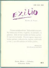 Photo: Exilio. Revista de Poesía. No. 2, 1994. Ediciones Exilio Santa Marta. Poemas y Homenaje al Mar. Edición virtual de la revista completa  (22 páginas).  Formato Gogle, pdf: https://docs.google.com/viewer?a=v&pid=explorer&chrome=true&srcid=0B-ABjQmYGMXbNzhkMzYwYjctNDllZi00YzU3LTllYWUtMzMyODI3YTZkMDJi&hl=en Formato ISSUU, pdf:  Formato Scribd, pdf: