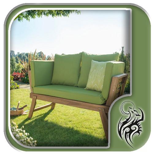 Wooden Garden Sofa Design