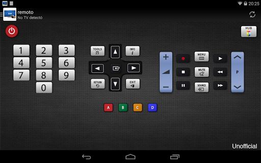 Remoto para televisor Samsung screenshot 8