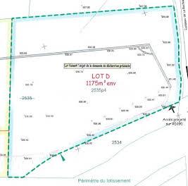 Terrain 1175 m2