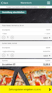 Punjabi Pizza Marktschwaben- screenshot thumbnail