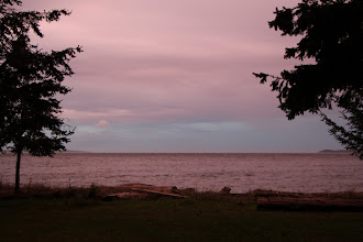 Photo: Red Sky at Night, Sailor's Delight. Totally true. I was clear and bright today.